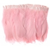 Goose Feather Strung 5.5-7in Value 65g 2Yards Baby Pink